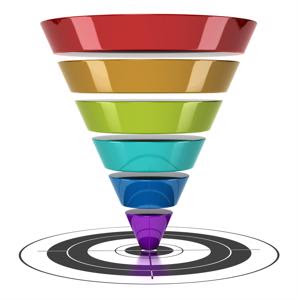 A CRM can improve the sales funnel
