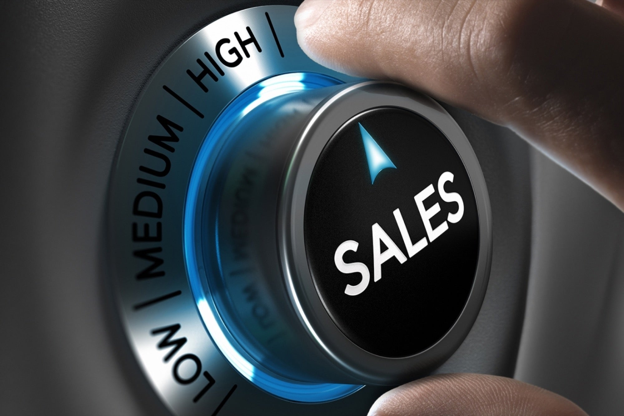 Sales Fast Forward Button
